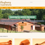 Allegheny Treenware website